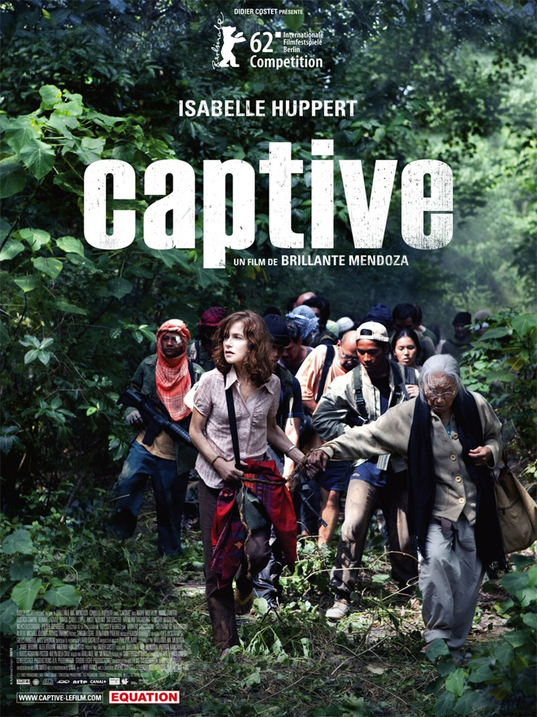 Caratula de Captive (Captured) (Cautiva)