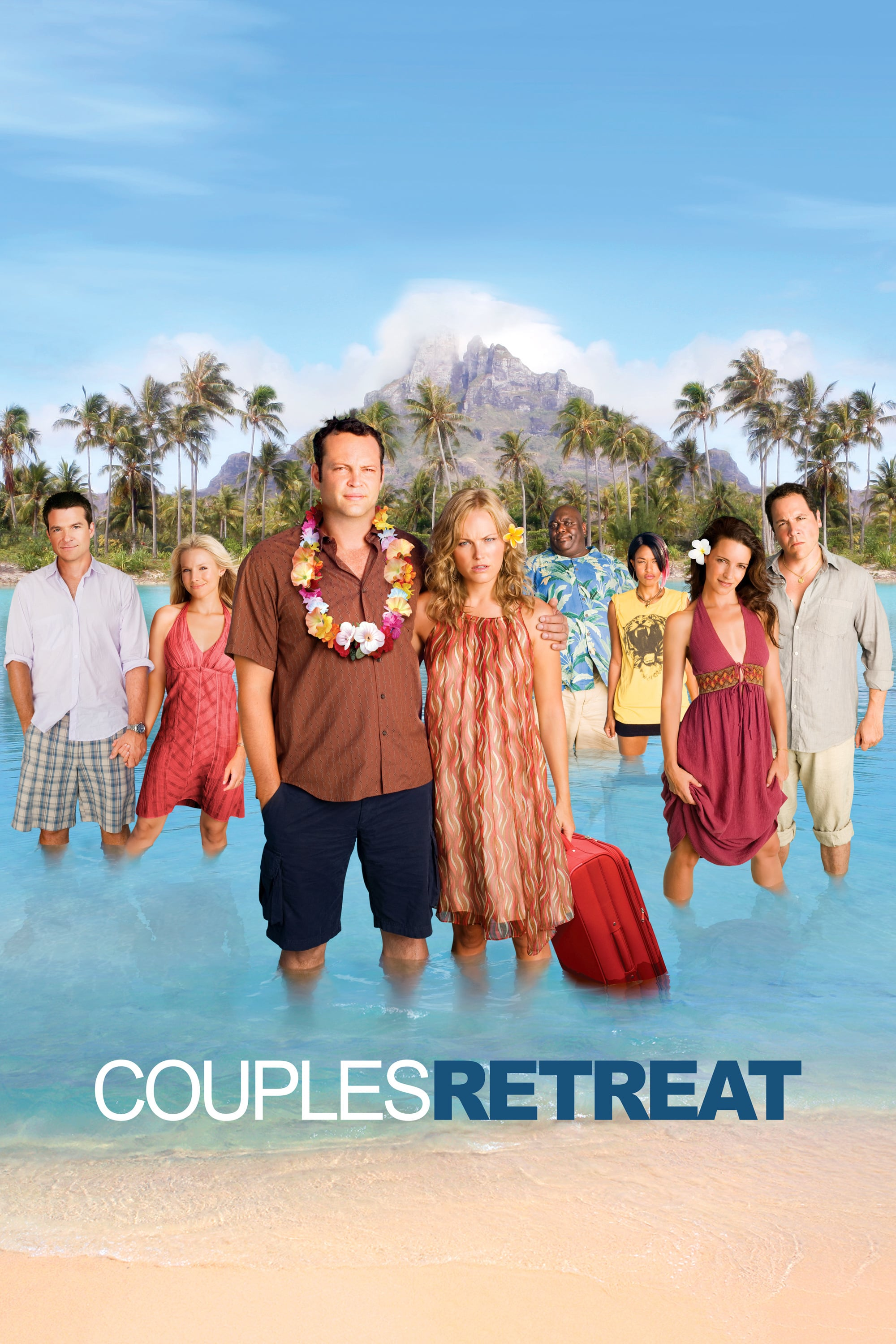 Caratula de COUPLES RETREAT (TODO INCLUIDO)