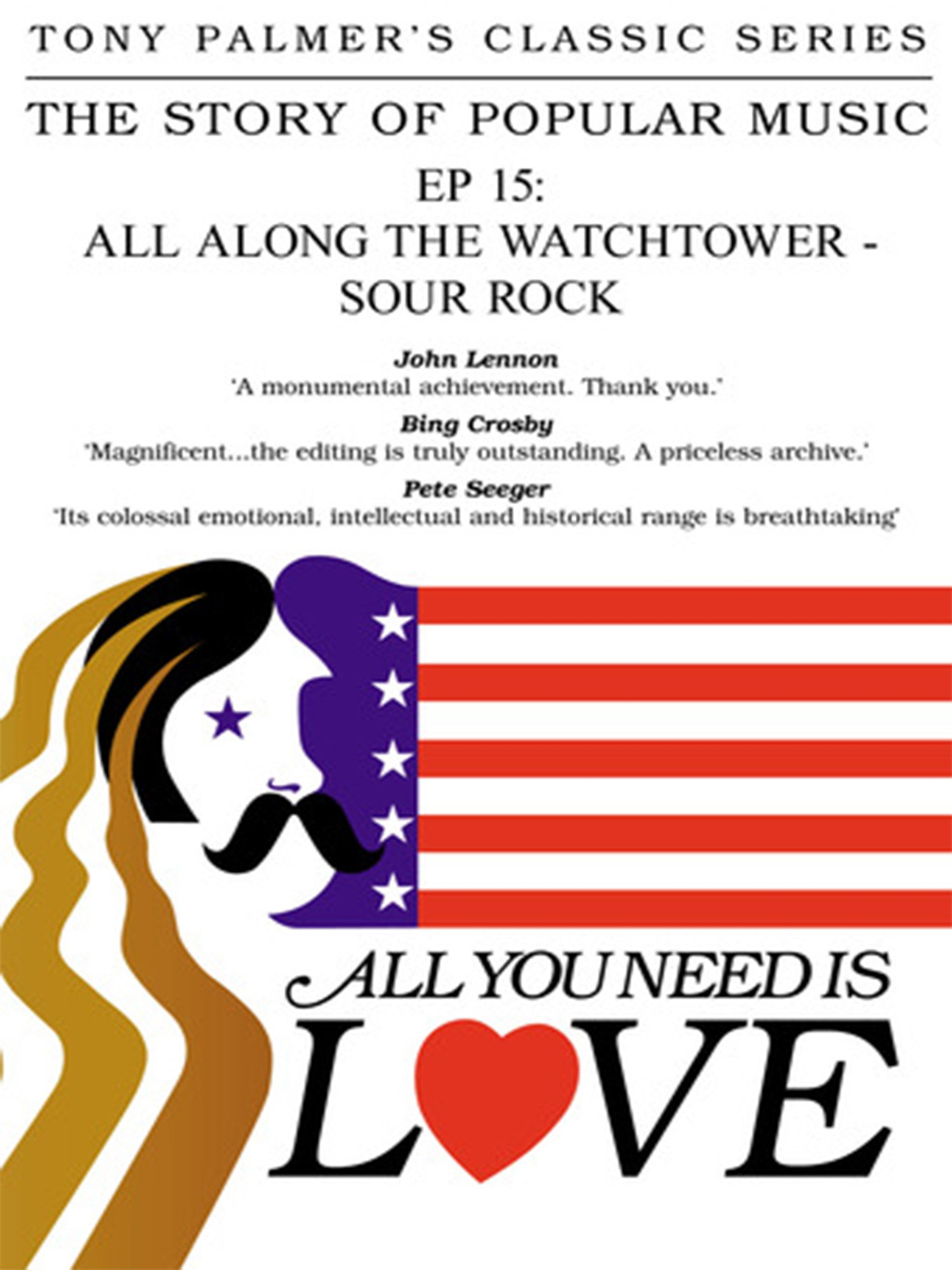 Caratula de All you need is love: All along the Watchtower (All you need is love: All along the Watchtower)