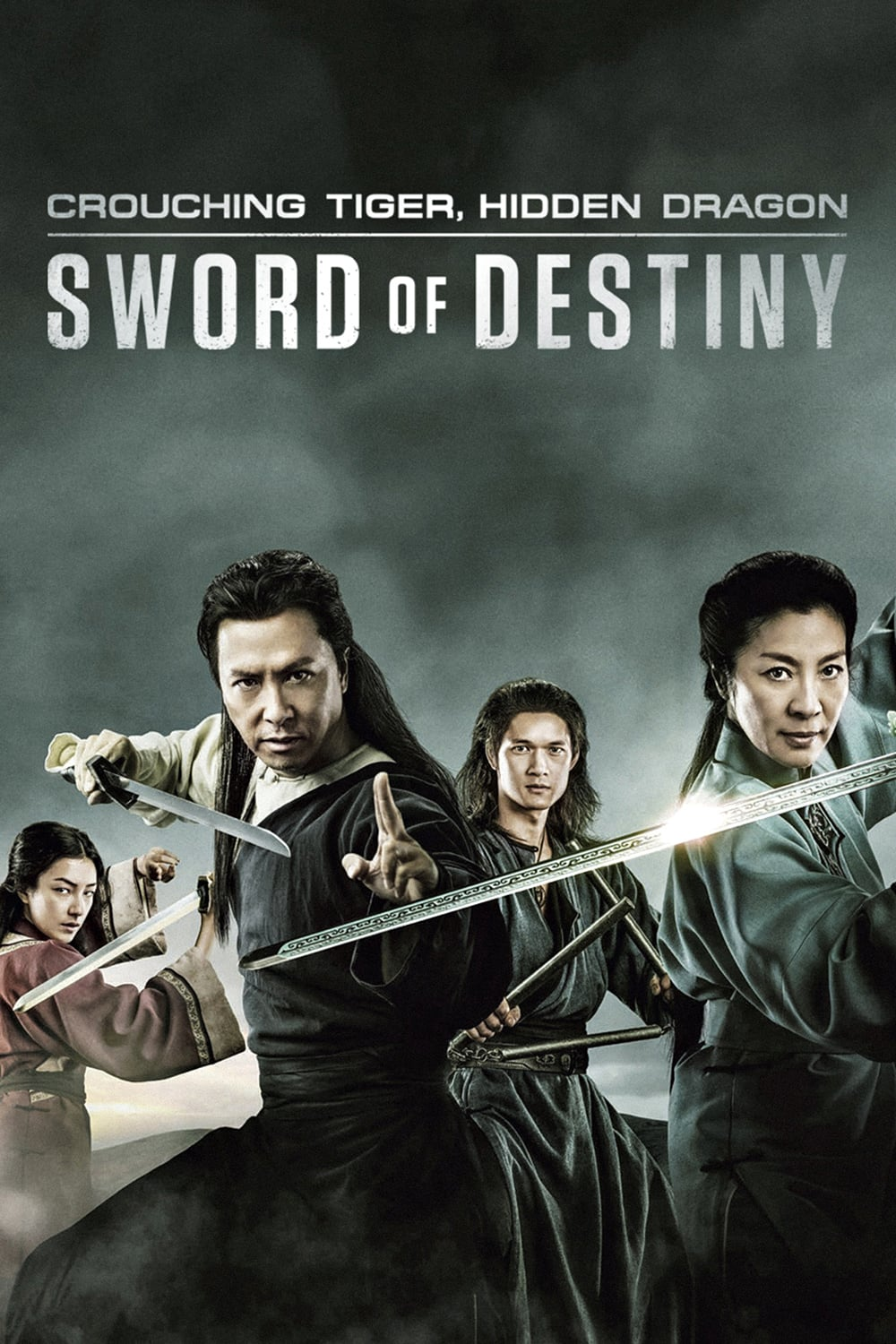 Caratula de CROUCHING TIGER. HIDDEN DRAGON: SWORD OF DESTINY (Tigre y dragon 2: La espada del destino)