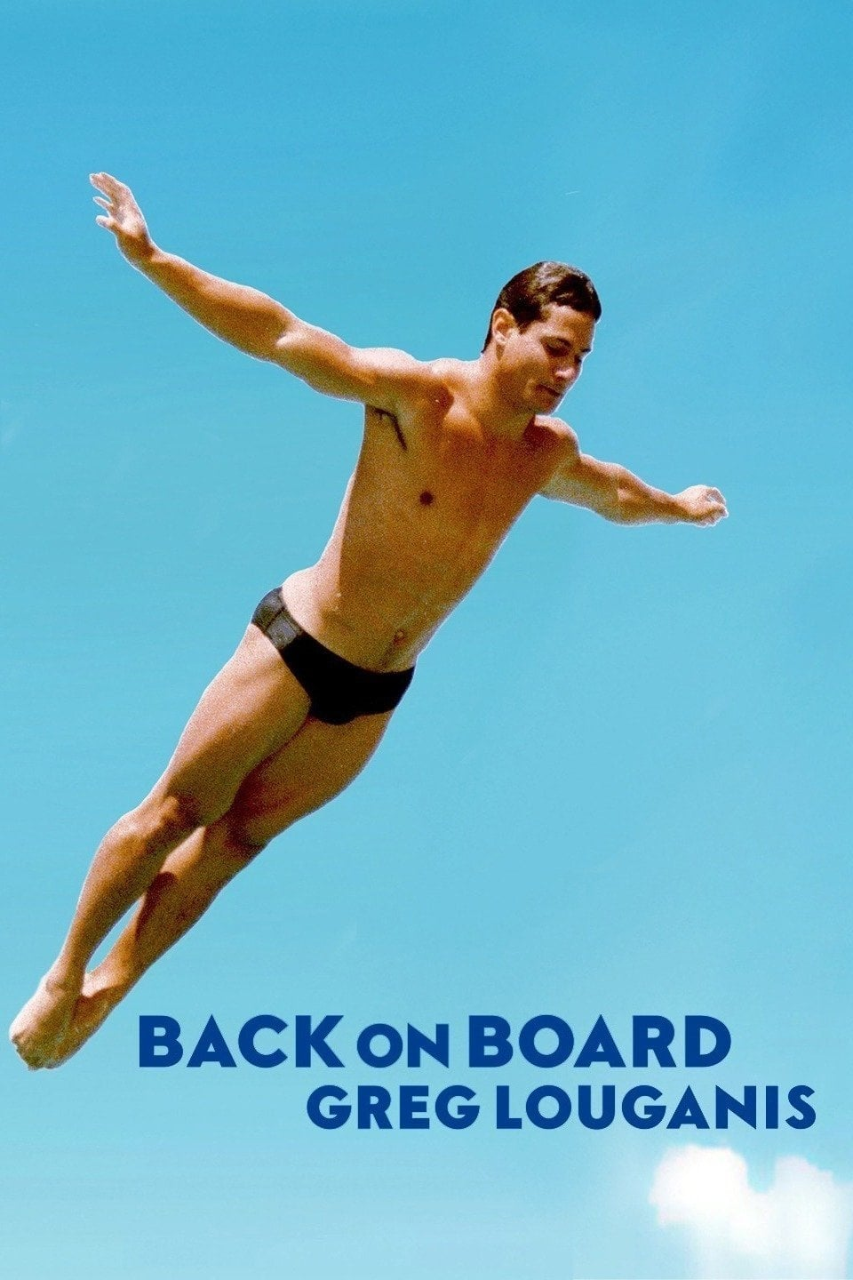 Caratula de BACK ON BOARD: GREG LOUGANIS (Back on Board: Greg Louganis)